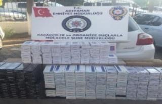 9 Bin 160 Paket Kaçak Sigara Ele Geçirildi