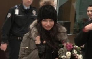 Adriana Lima Türkiye'ye Geldi