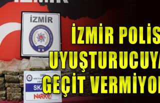 İzmir'de uyuşturucuya darbe