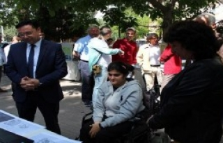 Afad'dan Engellilere Afet Eğitimi