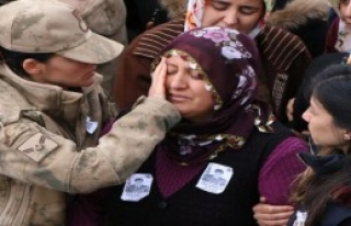 Afrin Şehidini 10 Bin Kişi Uğurladı