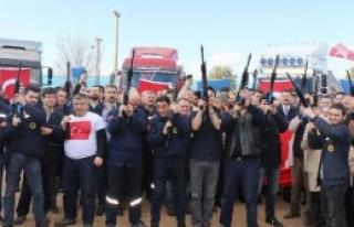 Afrin'deki Mehmetçiğe Yerli Silah Gönderildi