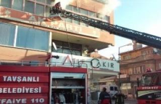İlçe Binasında Yangın