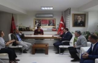 AK Partili Dağ'dan CHP'ye Taziye Ziyareti