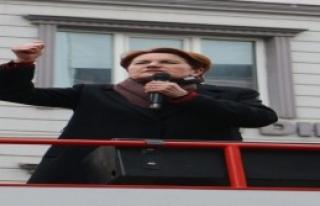Akşener: Davutoğlu'na Bağırdı