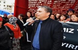 Antalya'da Kadınlardan 'Yeter Artık' Eylemi
