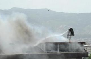 Yangın 3 Dubleks Daireye Sıçradı