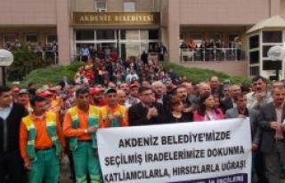 Fazıl Türk'e, İşçilerinden Destek