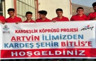Artvin'den Bitlis'e Gönül Köprüsü
