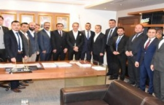 ASKON'dan AK Parti İl Başkanı Şengül'e Ziyaret