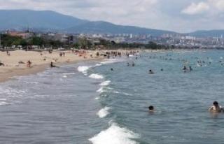 Atakum Sahiline Tatilci Akını