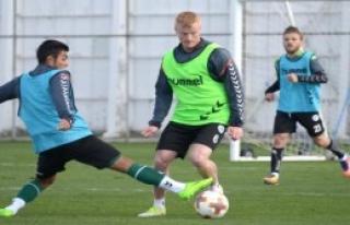 'Salzburg Maçı Hazırlıklarına Başlandı'