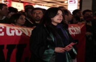 Avukatlardan Cübbeli Yürüyüş