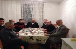 Avusturya'daki Türk Derneğinden Ev Ziyaretleri