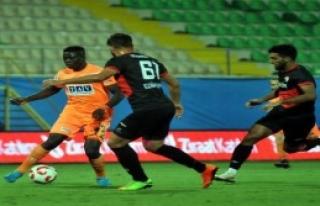 Aytemiz Alanyaspor - Edirnespor: 2-0