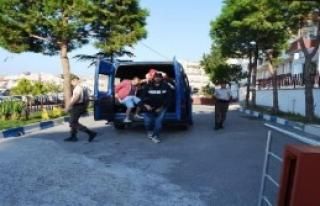 Ayvalık'ta Suriyeli 5 Kaçak Yakalandı