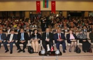 Kahramanmaraş'ta Konferans Verdi