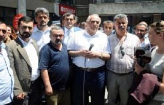 Milletvekillerinden Suruç'taki Patlamaya Tepki