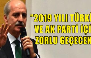 '2019 Yılı Zorlu Geçecek'