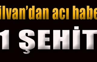 Silvan'da Hain Saldırı: 1 Şehit