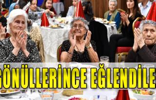 İzmir'de Yaşlılar Unutulmadı