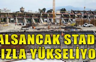 Alsancak Stadı yeniden doğuyor