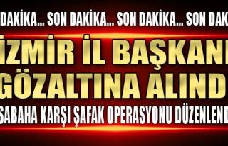 İzmir Polisi Terör Operasyonu Düzenledi