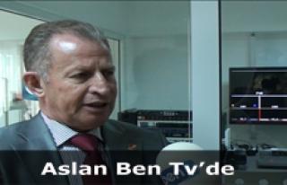 Aslan Ben Tv'yi Ziyaret Etti