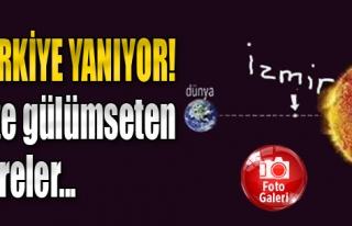 Türkiye Yanıyor... İşte Gülümseten Fotoğraflar
