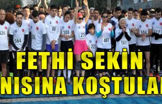 İzmir'de Anlamlı Koşu