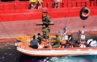 Botaş'ta Sahil Güvenlik Deniz Güvenlik Takım Komutanlığı...