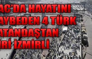 İzmir'den Geldi Hayatını Kaybetti