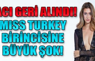 Türkiye Güzeli Seçilen Itır Esen'in Tacı Geri...