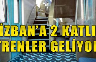 İzmirliler Çift Katlı Trenle Tanışacak