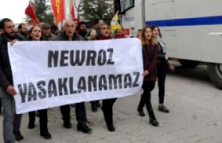 Eskişehir'de 'Nevruz Yasaklanamaz' Yürüyüşü