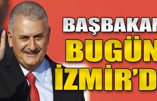 Başbakan bugün İzmir'de