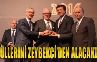 Ödüllerini Zeybekci'den Alacaklar