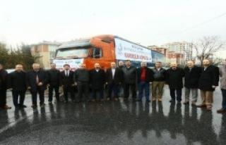Türkmenlere 10 Tonluk Yardım