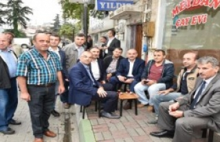 Bakan Müezzinoğlu'ndan Çay Sohbeti