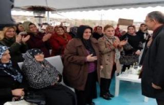 Özhaseki Şehitler Camii'nin Açılışını Yaptı