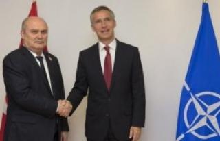 Nato Genel Sekreteri İle Görüştü