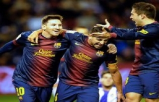 Barcelona Rakibine Fark Attı