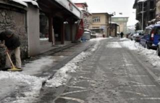 Bartın'da 77 Köy Yolu Ulaşıma Kapandı