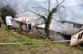 Bartın'da Tek Katlı Ev Yandı: 1 Ölü, 1 Yaralı