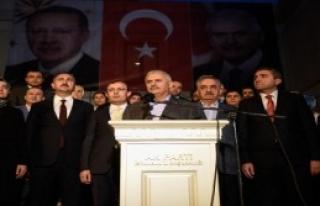 Başbakan İstanbul'da Konuştu