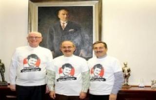 Başkanlar, Ali İsmail Korkmaz Tişörtü Giydi