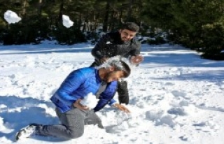 Akdeniz'in Zirvelerinde Kar Sevinci