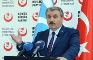 Bbp Genel Başkanı Destici'den Telafer Ve Tazehurmatu...