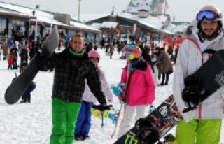 Kayakseverler, Erciyes'e Akın Etti