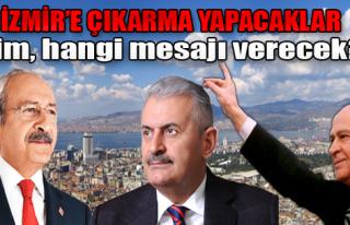 Liderler Arka Arkaya İzmir'e Gelecek